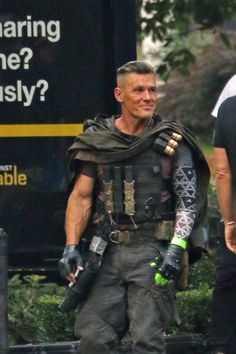 First Look: Josh Brolin films Deadpool 2 in Vancouver (PHOTOS) | Daily Hive Toronto