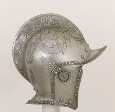 German, Nuremberg Burgonet, ca. 1540–50