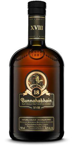 Bunnahabhain 18 Year Old Single Malt Whisky - Vinotèque