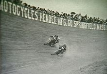 Board track racing destryed by the great depresion, , we need to make it a come back kid . .- Wikipedia, the free encyclopedia