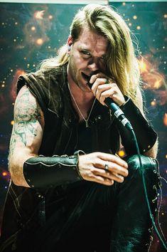 "Twilight Force ⚫ Photo by Karol ""Tarakum"" Makurat ⚫ Gdańsk 2017 ⚫ The Last Tour ⚫ #TwilightForce #Chrileon #warrior #vocalist #vocals #larp #music #metal #concert #gig #musician #band #artist #celebrity #Sweden #Swedish #Powermetal #dragon #live #concertphotography #Nuclearblast #トワイライトフォース"