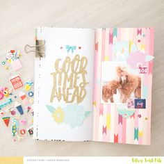 Citrus Twist Kits: Traveler's Notebook with Veera