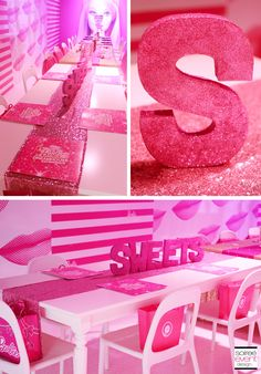 Barbie Party at the Barbie Dreamhouse Experience @Mall of America styled by Soiree-EventDesign.com