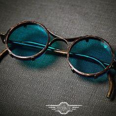 Новое и не типичное для нас изделие. Удобно сидят на переносице, складываются, раскладываются. #стимпанк #стимпанкочки #гоглы #очки #ручнаяработа #своимируками #steampunk #steampunkfashion #handmade #metalwork #goggles #glasses Men Sunglasses Fashion, Fashion Eye Glasses, Cute Sunglasses, Round Sunglasses, Goggles Glasses, Cool Glasses, Mens Glasses, Glasses Frames, Steampunk Glasses