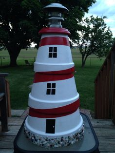 My terra cotta lighthouse