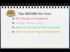 Tips and suggestions to overcome Test Taking Anxiety
