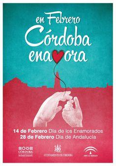 """En febrero, Córdoba enamora"""" en una iniciativa promovida por el Ayuntamiento de Córdoba y que está dirigida a situar a Córdoba como escenario de encuentro y concordia."""