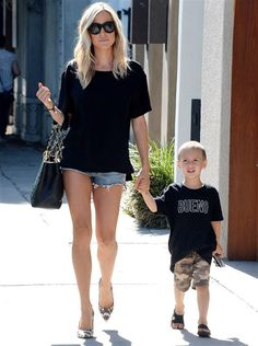 Kristin Cavallari and her son Camden Jack Cutler are seen out and about in Los Angeles on July 27, 2016.