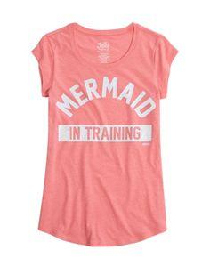 Tween Brands Mermaid Graphic Long Tee. Just missing the tale