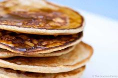 Clean Eating Buttermilk Pancakes