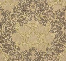 Vliestapete Floral Barock braun gold P+S Como 02354-30
