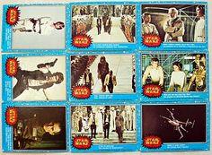 Still have all my Star Wars Trading Cards