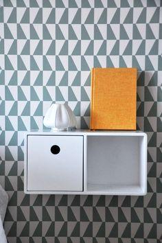 Arne Jacobsen #Trapez #wallpaper