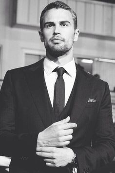 Theo James -- I have no idea why but something about that cuff-check moment is just really hawt.