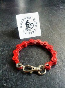 Bike Chain Bracelet - For more great pics, follow www.bikeengines.com More