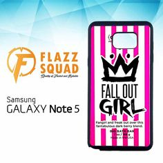 Fall Out Girl Chunk W4292 Samsung Galaxy Note 5 Case