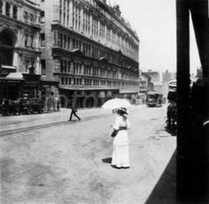 George Street, Sydney c. New Zealand, Sydney, Past, Street View, Australia, In This Moment, History, City, Places