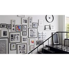 Brushed Silver Triple 4x6 Wall Frame in Frames, Ledges | Crate and Barrel