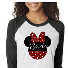 Heading on your Honeymoon? Check out these Disney Bride and Groom shirts