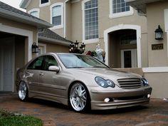 Mercedes Benz C-class(W203) Mercedes C 200, Mercedes Benz C180, Express Car Wash, Honda Civic Vtec, Merc Benz, Slammed Cars, Mercedez Benz, Rims For Cars, Benz Car
