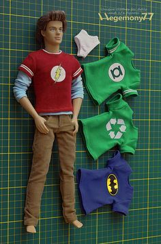 free printable ken doll clothes patterns - Google Search; lots of ...