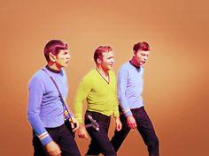 Spock, Kirk, Doc