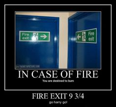 bahahahaha!! // Harry Potter, - Funny, - Humor, - Jokes, - Funny Pictures, - Fandom, - Geek, - Funny Signs, - Awesome.