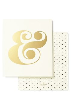 Free shipping and returns on kate spade new york 'ampersand' wall art at Nordstrom.com. A conjunction of style and whimsy, this golden ampersand livens up any room in the house. The print is set on high quality paper stock, so it can stand alone or sit in a frame.