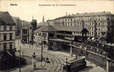 ca 1905 Hoch-Bahnhof Schlesisches Tor