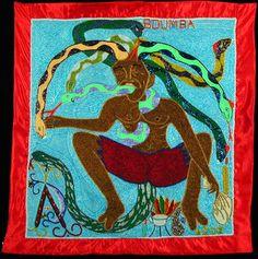 Boumba Vodou Banner - Roudy Azor (Port-au-Prince, Haiti)