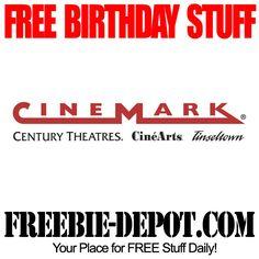 BIRTHDAY FREEBIE - Century Theatres - FREE BDay Popcorn