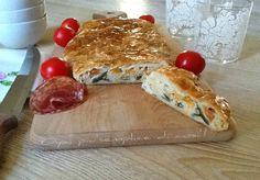 Strudel con verdure e ricotta, ricetta. http://blog.giallozafferano.it/oya/strudel-con-verdure-e-ricotta-ricetta/