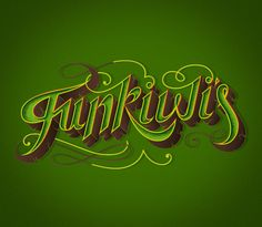 Funkiwi's band by VOLTIO™ , via Behance