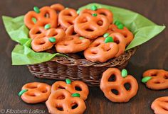 Simple and adorable Halloween-themed appetizers and snacks make for a spooky and sweet homemade Halloween.
