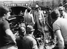 Trasa W-Z 1980  #warszawa #warsaw #poland #budowa #trasa #most #śródmieście Most, Warsaw, Che Guevara, Fictional Characters, Historia, Fantasy Characters