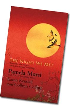 THE NIGHT WE MET - A #Novella by Pam Morsi Contemporary Romance Novels, Bestselling Author, Night, Frame, Picture Frame, Frames