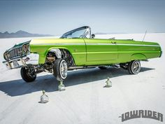 1964 Chevy Impala.  This bad boy got one up on a bottle of Patron Silver!