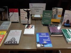 Selection of readings in the Library Hall.