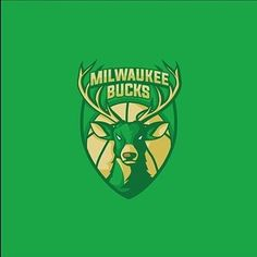 Milwaukee Bucks re-designed by @turrric #follow us to see more creative and inspirational design everyday!  #design #illustrator #logo #designspiration #icon #icondesign #vector #graphicdesign #simple #creative #flatdesign #graphicdesigner #pictoftheday #art #pixel #inspiration #iconaday #shoutout #milwaukeebucks #green #deer #basketball #club by bananas_cdc