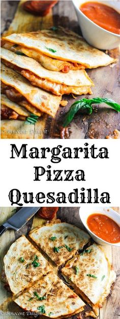 Pizza Quesadilla Margarita Pizza Quesadilla combine two of the most popular Italian and Mexican dishes – pizza and quesadillas. Listen, if 1 is is better!Margarita Pizza Quesadilla combine two of the most popular Italian and Mexican dishes – pizza a Pizza Quesadilla, Quesadilla Recipes, Pizza Pizza, Pizza Recipes, Recipes Dinner, Mexican Dishes, Mexican Food Recipes, Italian Recipes, Vegetarian Recipes