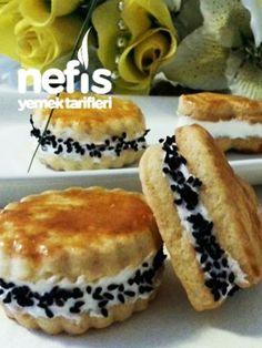 Tuzlu Sandviç Kurabiye – Sandviç tarifi – Las recetas más prácticas y fáciles Sandwiches, Cheesecake Brownies, Homemade Beauty Products, Muffin, Food And Drink, Sweets, Bread, Cookies, Breakfast