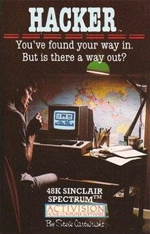 Hacker is a 1985 computer game by Activision. It was designed by Steve Cartwright