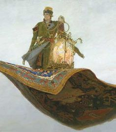The Magic Carpet and the Lamp by Victor Vasnetsov