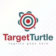 Exclusive Customizable Logo For Sale: Target Turtle | StockLogos.com