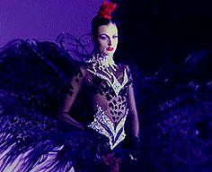 80s-90s-supermodels:  Thierry Mugler F/W 1995Models: Karen Mulder, Irina Pantaeva and Helena Barquilla