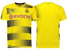 Borussia Dortmund 2017-18 Home Short Shirt