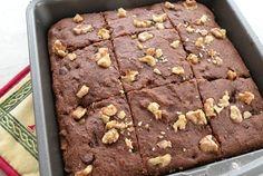 Vegan chocolate brownies cake recipe