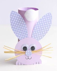 This list of simple Easter crafts for kids is absolutely adorable! From egg carton chicks to cotton ball bunnies there are tons of Easter craft ideas here! images paper crafts Simple Easter Crafts for Kids - One Little Project Paper Plate Crafts For Kids, Fun Easy Crafts, Easy Easter Crafts, Easter Art, Bunny Crafts, Easter Crafts For Kids, Toddler Crafts, Paper Crafts, Easter Bunny