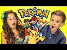 KIDS REACT TO POKEMON (Retro TV) - YouTube