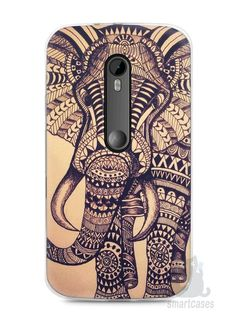 Capa Moto G3 Elefante Tribal - SmartCases - Acessórios para celulares e tablets :)
